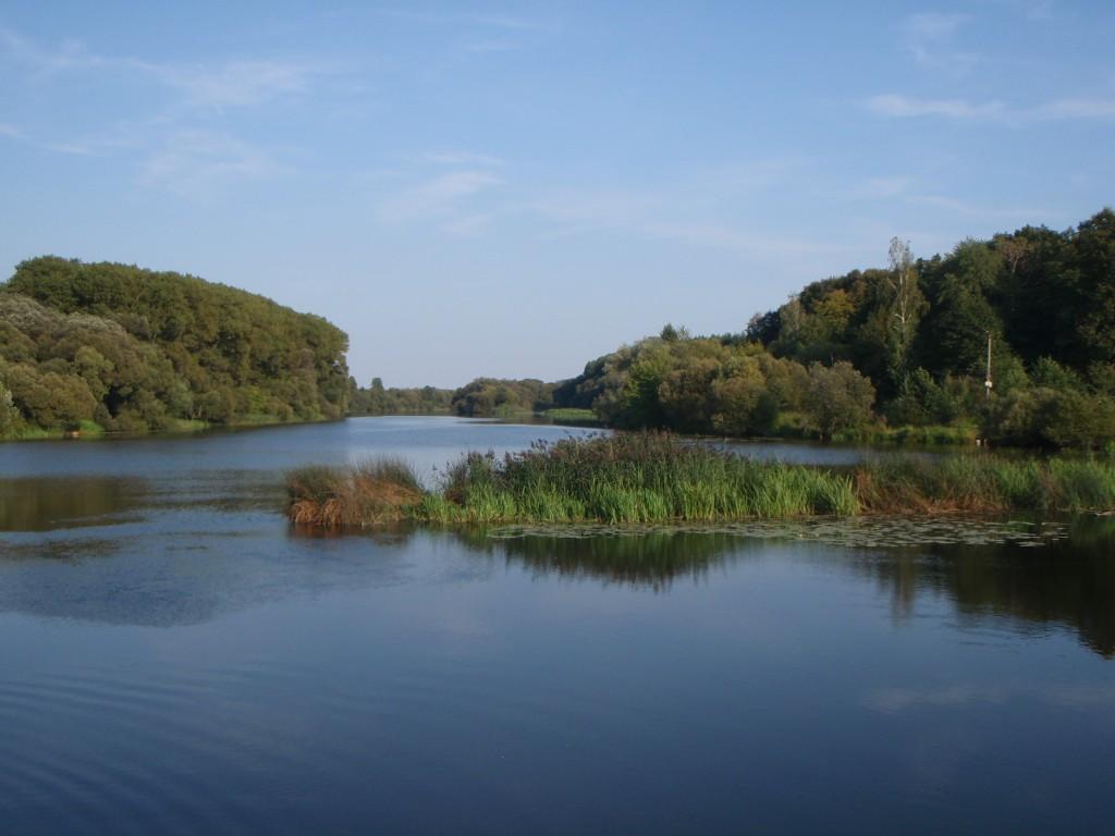 The River Sluch in Novograd-Volynski. My computer desktop for months.